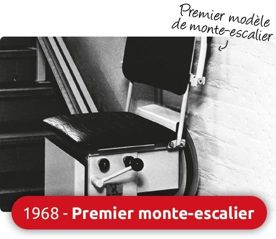 1968 monte escalier