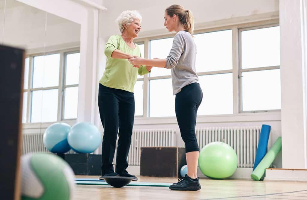 Cours de prevention des chutes pour les personnes agees
