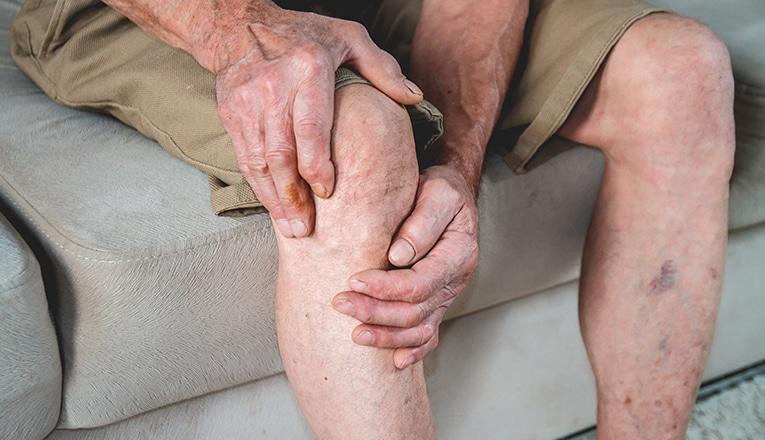 Douleur aux genoux due a l'arthrose du gnou